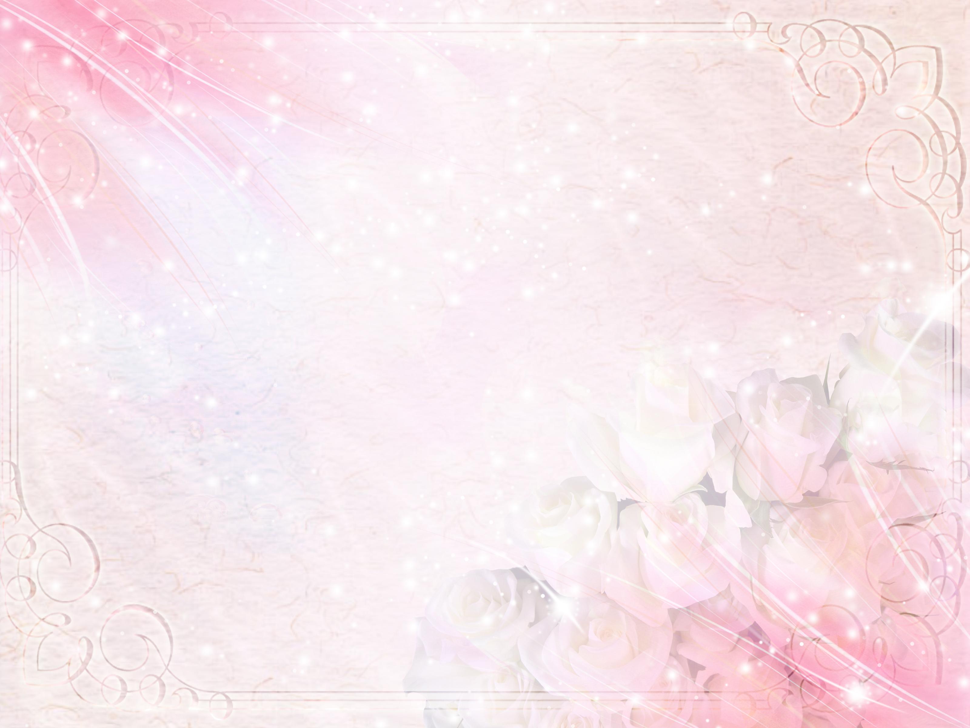 Красивый фон для открытки розовый 54